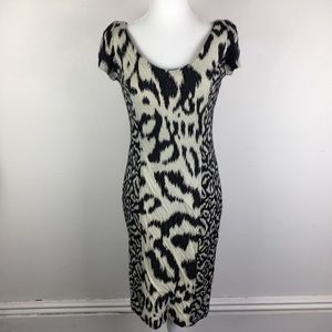 DVF Animal Print Dress